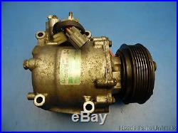 01-05 Honda Civic OEM A/C air compressor pump with clutch TRSA09 NON Si
