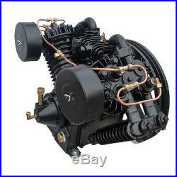 10HP 180psi 4 Cylinder Air Compressor Pump Two-Stage 28.3cfm Fits Compressors