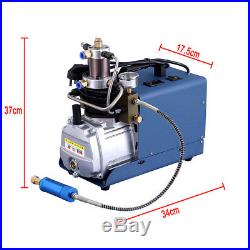 110V 30MPa 4500PSI Air Compressor Pump PCP Electric High Pressure Auto Shutdown