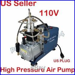 110V Electric Air Compressor Pump High Pressure PCP System Rifle 30MPA 4500psi