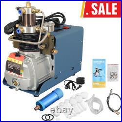 110V High Pressure Electric PCP Air Compressor 30MPa 4500PSI Scuba Diving Pump