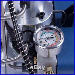 110V PCP 30Mpa 4500psi Electric Air Pump High Pressure Paintball Air Compressor
