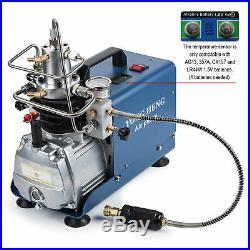 110V Pump Electric High Pressure 30MPa Air Compressor System Rifle PCP Air Gun b