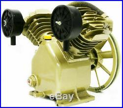 11.2 Cfm 120 Psi Twin Cylinder Air Compressor Pump 3hp Motor V-belt Gas Electric