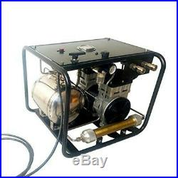 12v Hookah Diving Air Compressor Marine Scuba Dive Breathing &Hose&Respirator