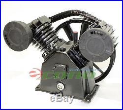 145 Psi 5 5 Hp 18 Cfm V Type Twin Cylinder Air Compressor
