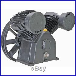 17.5 Cfm 145 Psi Twin Cylinder Air Compressor V Pump 5hp 5hp Electric Motor