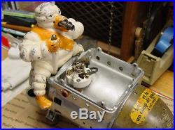 "1920/'s Michelin Man Air Pump Compressor Bibendum /""TOP Air Gauge COVER/"" NEW!"