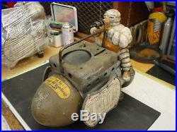 1920's Michelin Man Air Pump Compressor Bibendum TOP Air Gauge COVER NEW