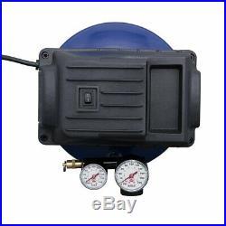 1 GALLON AIR COMPRESSOR PANCAKE OILLESS PUMP 110 PSI +10pc ACCESSORY KIT