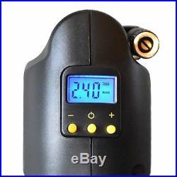 1x Portable Handheld Air Compressor Pump Auto Car Tire Inflator Digital Pressure