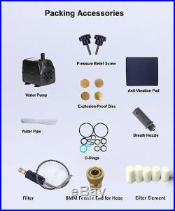 220V-230V 300bar 4500 Psi Hochdruck Luft Kompressor PCP Airgun Scuba Luft Pumpe
