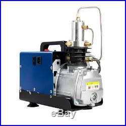 220V 30MPa 4500PSI Air Compressor Pump PCP Electric High Pressure Auto Shutdown