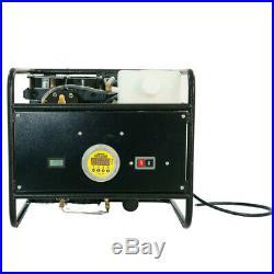 2.5HP High Pressure Air Compressor Pump Paintball PCP Airsoft Scuba Tank Refill