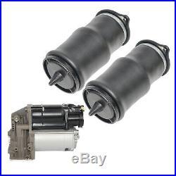 2x Luftfederung Luftfeder Hinten & 1x Kompressor Mercedes W639 Viano Vito 03-13