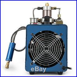 300BAR 30MPA 4500PSI High Pressure Air Compressor PCP Airgun Scuba Air Pump