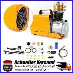 300BAR 30MPA 4500PSI High Pressure Electric Air Compressor Pump 220V 1800W