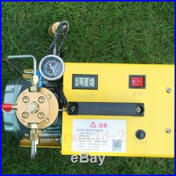 300BAR 30Mpa 4500 PSI Hochdruck Luft Kompressor PCP Airgun Scuba Luftpumpe 220V