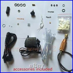 300BAR 4500PSI High Pressure Air Compressor PCP Airgun Scuba Air Pump 220V ACEE