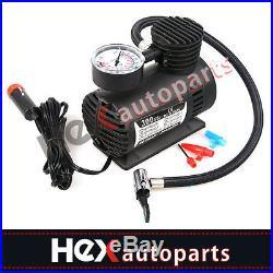 300PSI 12V Portable Mini Air Compressor Auto Car Electric Tire Inflator Pump