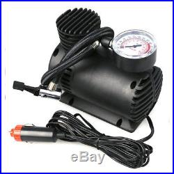 300 PSI 12V Car Auto Portable Pump Tire Inflator Mini Air Compressor WithGauge