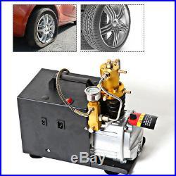 30MPA 4500PSI Air Compressor Pump PCP Electric High Pressure 300BAR 4500PSI DHL