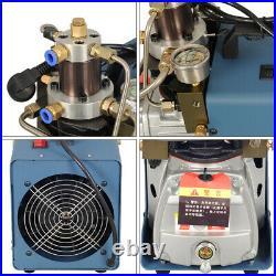 30MPA 4500PSI High Pressure Air Compressor 110V PCP Airgun Scuba Air Pump USA