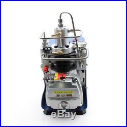 30MPA 4500PSI High Pressure Air Pump PCP Air Compressor Airgun Scuba 300BAR 220V