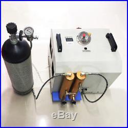 30MPA AUTO-Stop High Pressure Air Pump +2 Air Filter Air Compressor