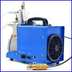 30MPa Air Compressor Pump 110V PCP Electric 4500PSI High Pressure TOAUTO