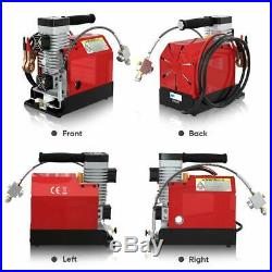 30MPa Air Compressor Pump 12V PCP Electric 4500PSI High Pressure Fits Rifle Car
