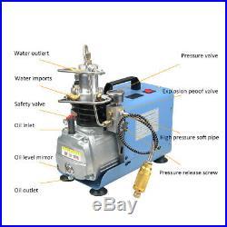 30MPa Air Compressor Pump PCP Electric 4500PSI 1800W High Pressure System Rifle