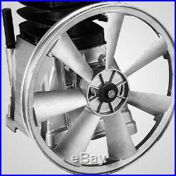 3KW Aluminum Air Compressor Head Pump Motor 160PSI Silver 1300PRM