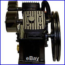 3-5 HP Air Compressor Pump 155 PSI LaPlante LPV6546A, V-Twin Style Pump