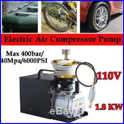 4500psi pcp air compressor for paintball air rifles tuxing 110V 300bar Black UR