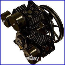 4 HP Air Compressor Pump 145 PSI LaPlante LPW6548A, 3 Cylinder, W Configuration
