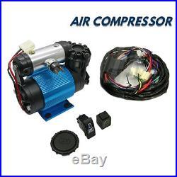 4x4 Tyrex 12v Heavy Duty Air Compressor Diff Lockers Tyre Inflator