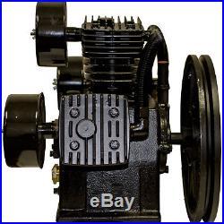 5 HP Air Compressor Pump 145 PSI LaPlante LPW6548A, 3 Cylinder, W Configuration
