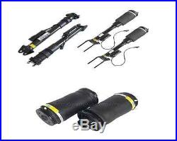 7PCS Front & Rear Air Struts With ADS + Compressor kit For Mercedes ML X164 W164