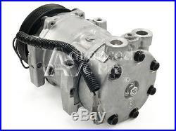 L6 4.0L AC A//C Compressor Fits 1997 1998 1999 2000 2001 Jeep Cherokee L4 2.5L