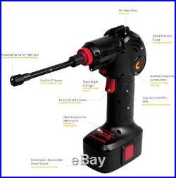 Air Compressor Electric Inflator Portable Hand Held Pump Read Digital US STOCK