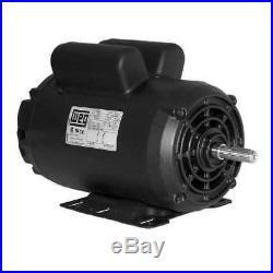 Air Compressor Motor, 6.5 HP, 3510rpm, 240V, 182/4Y WEG 00636OS1XCD182/4Y