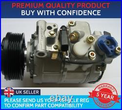 Air Con Compressor Pump To Fit Audi A4 Audi A5 Audi A6 Audi A8 Audi Q5