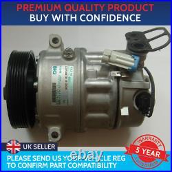 Air Con Compressor Pump To Fit Vauxhall Astra J Mk6 Insignia A Saab 9-5 Mk2