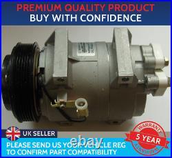 Air Con Compressor Pump To Fit Volvo C70 S60 S80 V70 V90 Xc70 Xc90