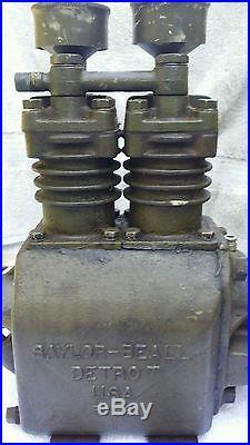 Antique Saylor Beall Detroit 501 E Cast Iron Air