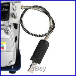 AutoStop Electric Air Pump High Pressure Air Compressor 220V Rifle PCP Diving