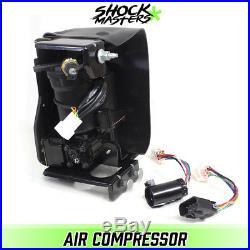 Autoride Air Suspension Compressor Pump in Cage 2003-2014 Cadillac Escalade ESV