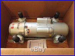BAND NEW GAST (8HDE-10-M855X) OIL-LESS VACUUM PUMP & AIR COMPRESSOR