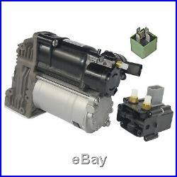 BMW 5er E61 Kompressor Luftfederung Niveauregulierung Luftversorgung + Ventil
